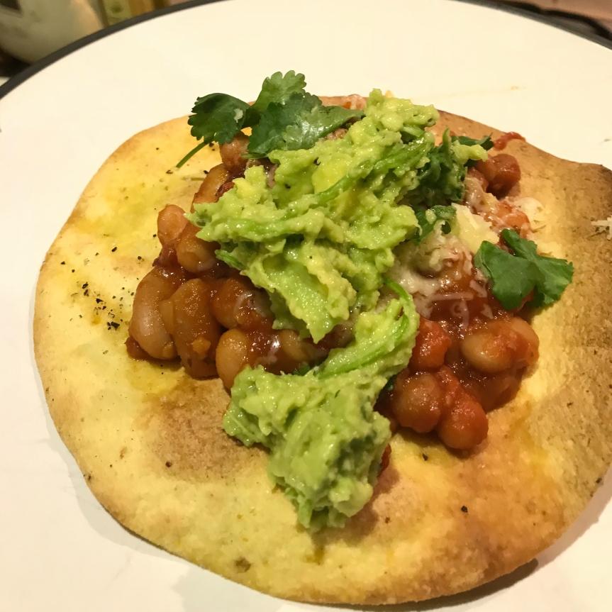 HelloFresh Vegetarian Mexican BeanieTostada!